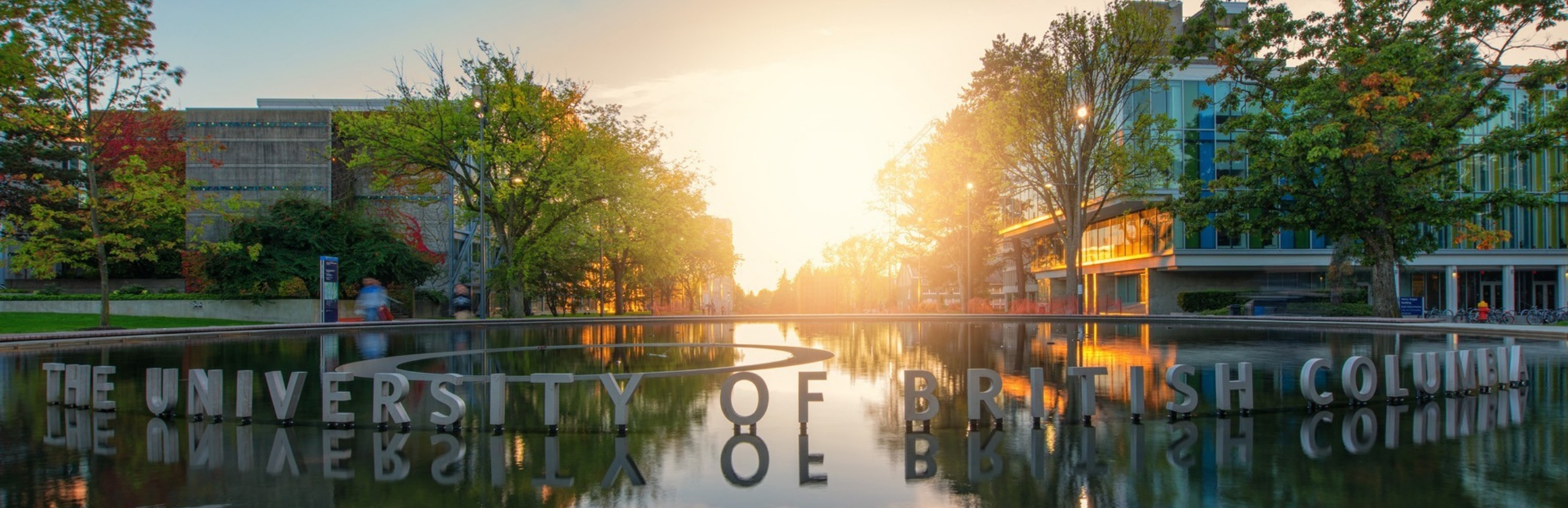 UBC Lake Sign