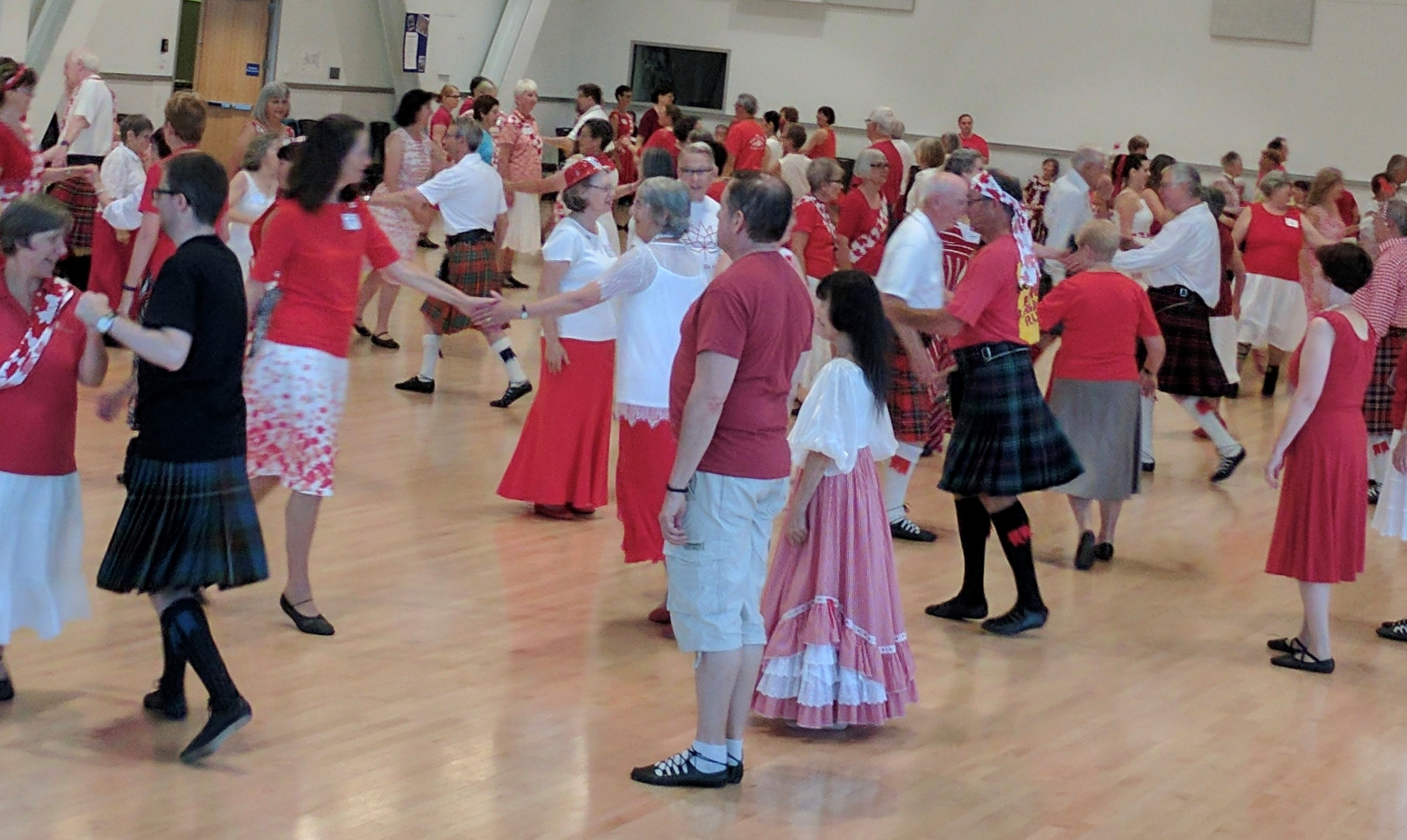 Canada Day Dance at Summer School